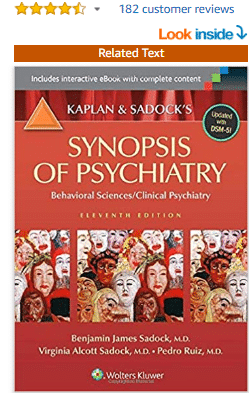 Kaplan and Sadock's Synopsis of Psychiatry: Behavioral Sciences/ Clinical Psychiatry Eleventh edition pdf