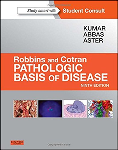 Robbins &Cotran Pathologic Basis of Disease 9th edition pdf