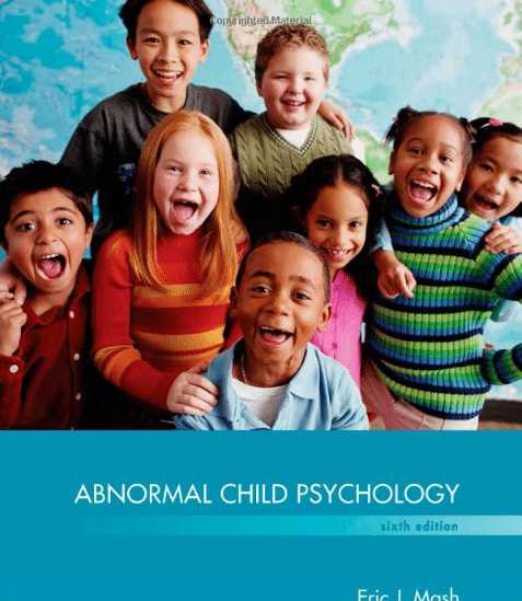Abnormal Child Psychology 6th edition PDF