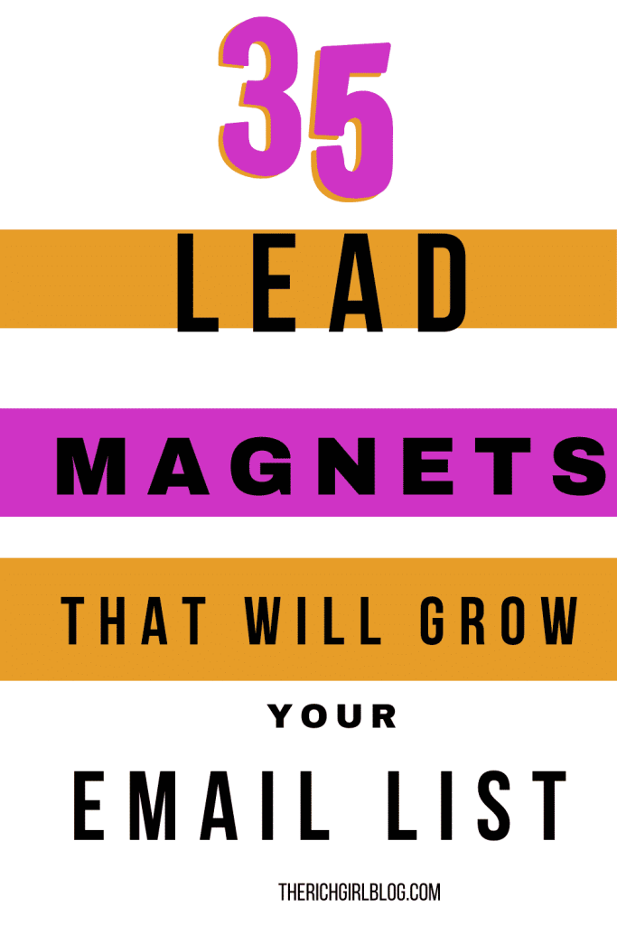 35 highly effective lead magnets
