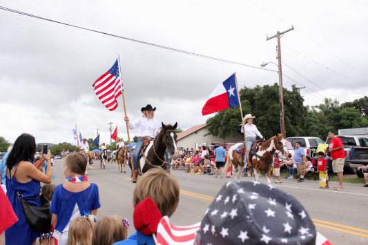 A Fourth of July in Leakey, TX