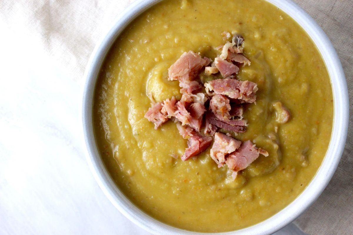 Split Pea Hambone Soup