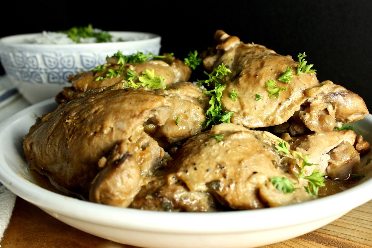 Lola's Chicken Adobo