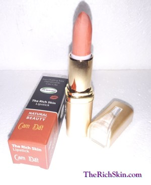 son duong moi co mau handmade chat luong cao The Rich Skin - Lipstick - lipbalm - matte lipstick - colour lipstick - clip care- natural thien nhien-cam dat 8