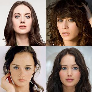 Alison Brie, Lizzie Caplan, Alexis Bledel, Jennifer Lawrence