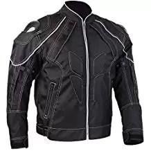 ILM Motorcycle Jackets, Carbon Fiber Armor Shoulder, Moto Jacket for Men and Women