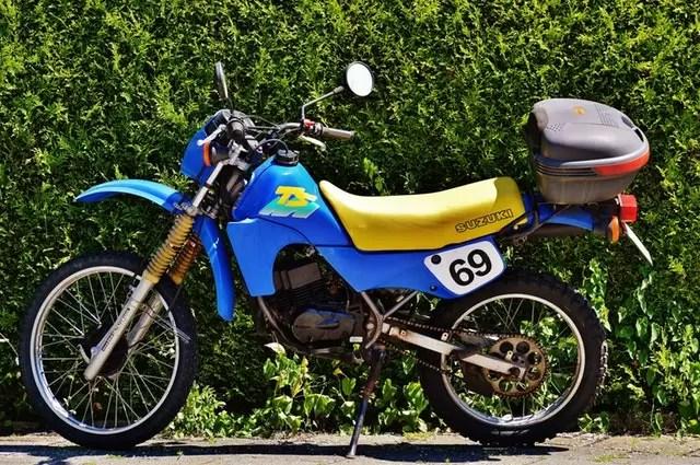 Dual Sport Motorcylce