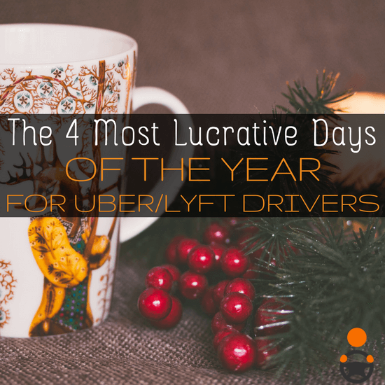 Best holidays to be a Uber and Lyft driver