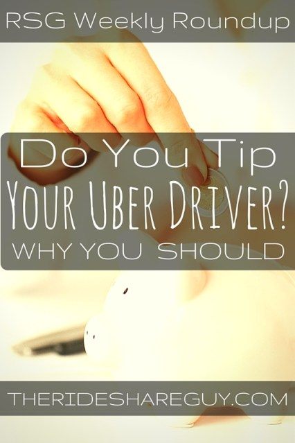 John Ince shares why you should tip your Uber driver, and another not so friendly Uber pax feature that drivers have been complaining about for a while!