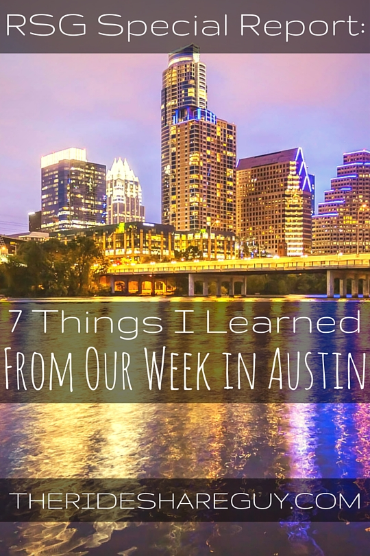 When Uber & Lyft left Austin, they made it seem like the end of the world. Turns out, that's not the case. Here's what we learned during our week in Austin.