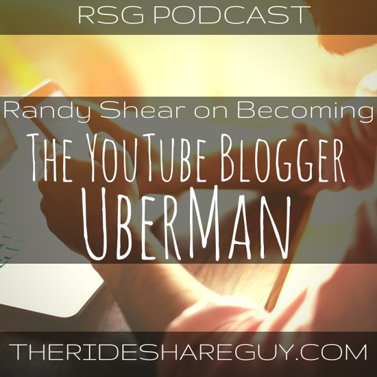 On this episode, I interview Randy Shear of the UberMan YouTube channel, where we discuss YouTube, and how drivers can maximize profitability.