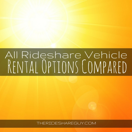 Thinking of driving for Uber and Lyft but don't own a car? Here are some rental options you may want to consider, with pros and cons of renting vs buying.