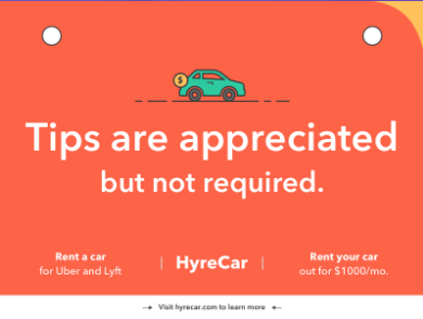 graphic about Printable Lyft Sign called I Additional A Idea Indicator Jar In the direction of My Uber Heres How Significantly I Created