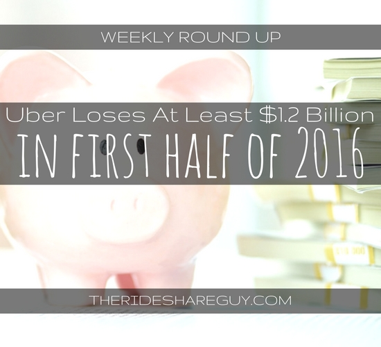 In this week's round up, John Ince covers Uber's losses, an interesting way to bet against Uber, and Uber & Lyft's lobbying practices around the country.