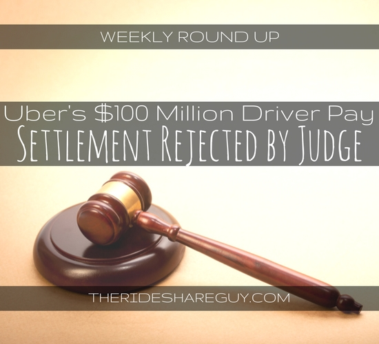 Lots to talk about on this week's round up! The Uber lawsuit, are passengers more aggressive than drivers, and self-driving cars all in the news this week -