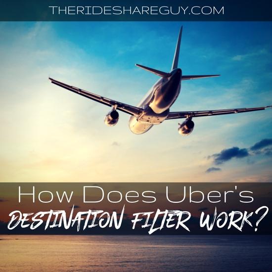 How Does Uber's Destination Filter Work?