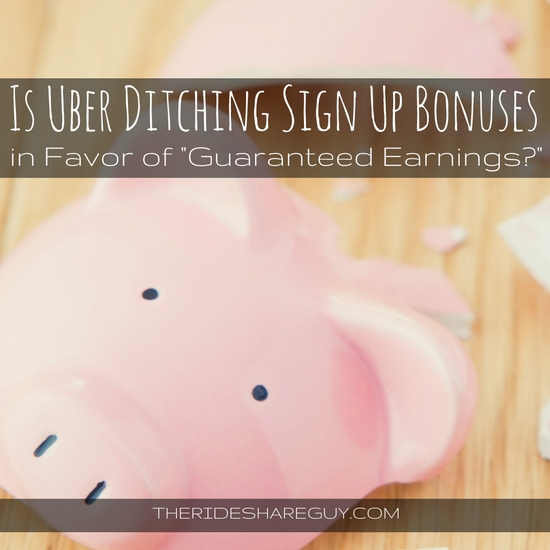 Over the past few months, Uber has been instating a new guaranteed earnings system, replacing referral bonuses. What you need to know going forward.