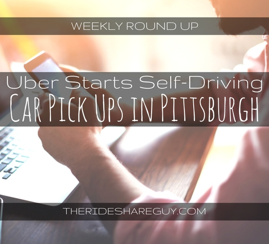 In this weekly round up, John covers what it's like to ride around in a self-driving car and what safety experts are saying about this latest craze.