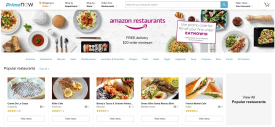 amazon-restaurant-delivery-screenshot