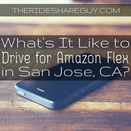 What is it Like to Drive for Amazon Flex in San Jose, CA?