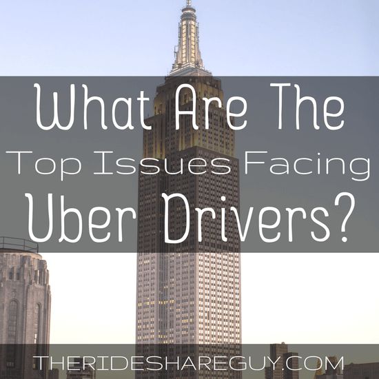 What are the top issues facing Uber drivers in 2017? My response to Jeff Jones, who outlines Uber's thoughts on driver concerns.