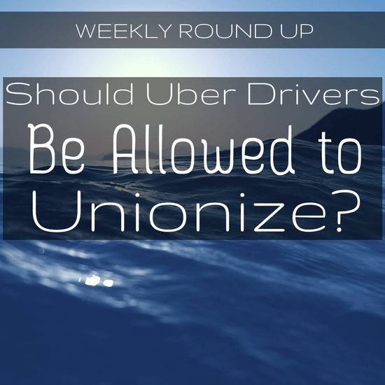 """Should Uber drivers be allowed to unionize? In this round up, Uber's clear answer is """"no"""", and they go to great lengths to prevent unionizing in Seattle."""