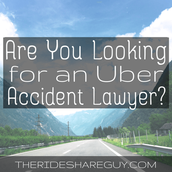 Uber Car Accident Attorney