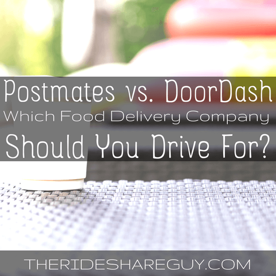 I always say people should diversify their income by signing up to drive for delivery, & today we break down the difference between Postmates and DoorDash.