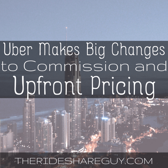 Everything you need to know about Uber's changes to commission and upfront pricing - what does it mean for drivers and driver pay?