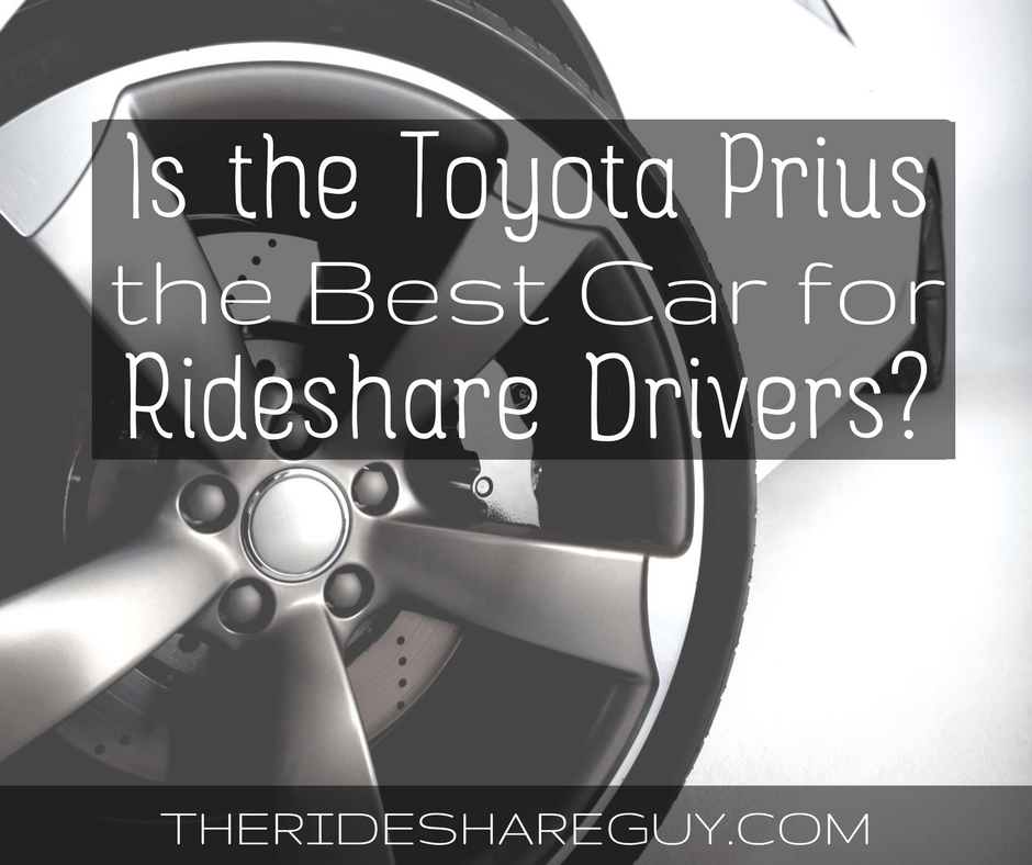 "I get a lot of questions about the ""best car"" for rideshare drivers, and many people assume the Prius is the best. But is it? We investigate -"