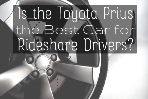 """I get a lot of questions about the """"best car"""" for rideshare drivers, and many people assume the Prius is the best. But is it? We investigate -"""