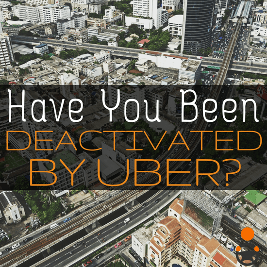 Driver and RSG contributor Jay was recently deactivated by Uber - and you won't believe the excuse they gave him. What does this mean for drivers, and has this happened to you?