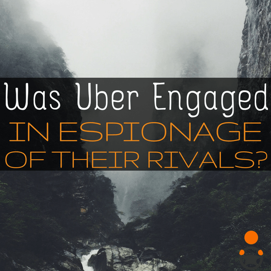 From allegations of espionage, to Uber's substantial losses, to one city cracking down on bad drivers, we've got it all.