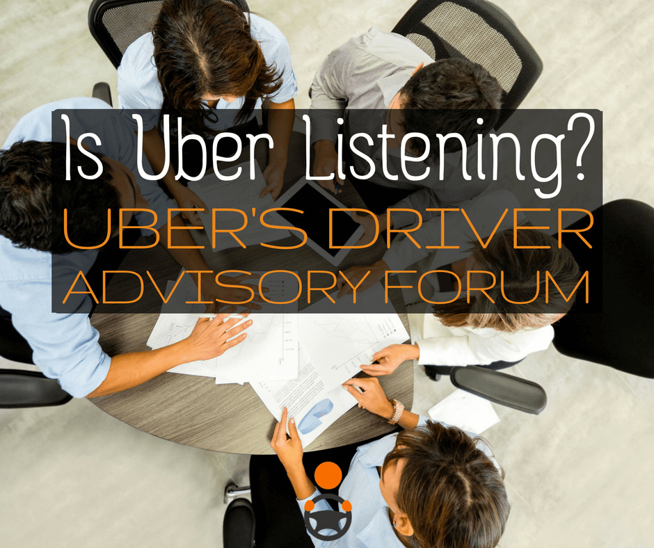 What is the Uber Driver Advisory Forum? Christian Perea covers Uber's first ever driver-centered Forum, what happened, and how you could get involved in the future.