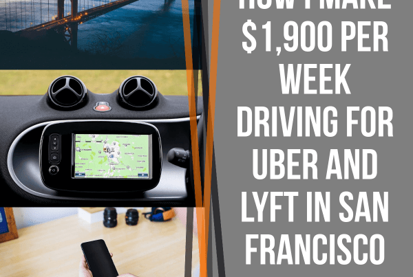 Ever wonder how some drivers can make so much driving for Uber and Lyft? We had senior RSG contributor Jay Cradeur explain his strategies for how he makes $1,900 driving for Uber and Lyft. And even though we can't all live in SF, a lot of the strategies Jay uses on a weekly basis can translate to other markets.