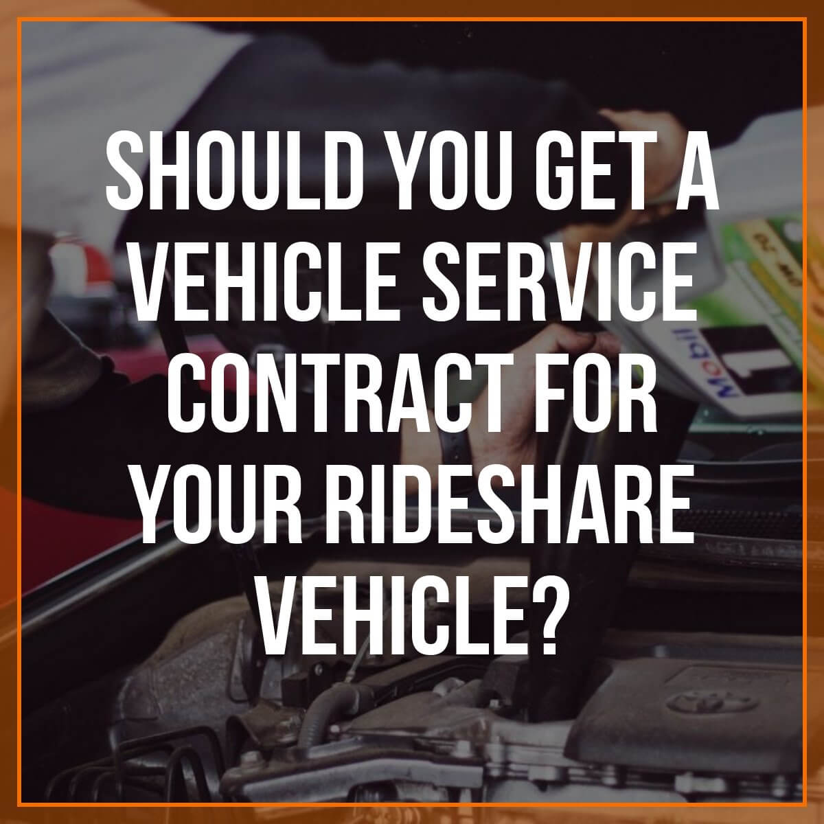 Today We Have A Sponsored Post From Rideshare Knight (You Can Check Them  Out Here