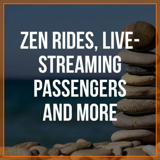 Lots to cover in this week's round up, including zen rides for passengers (and drivers!), autonomous vehicles on the rise, plus Caviar's new instant pay for couriers. Senior RSG contributor John Ince covers all of these stories, plus potential new tax revenue for cities, in this week's round up.