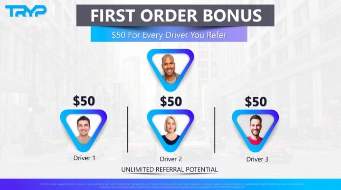 image of Tryp first bonus