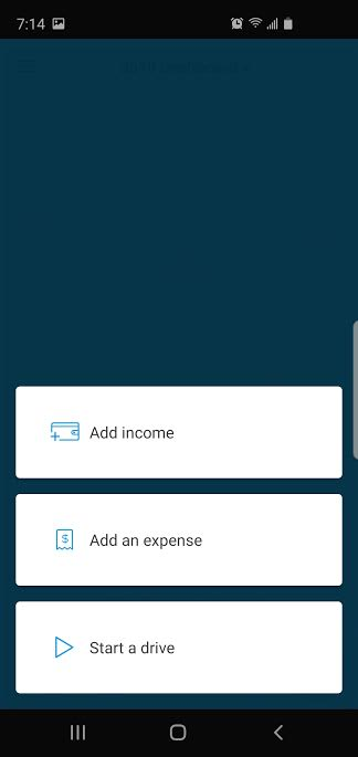 image of tracking income and expenses with Stride tax app mileage tracker