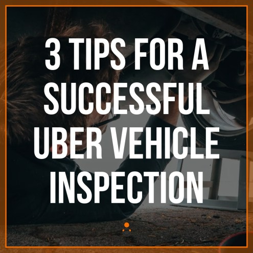 Uber vehicle inspection information