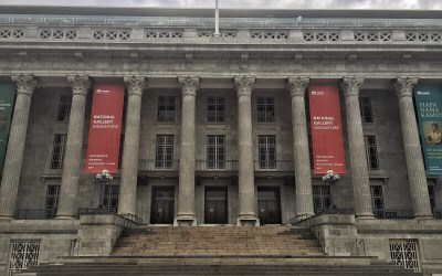 Frontal view of the National Gallery, photo credits: Claire Chan