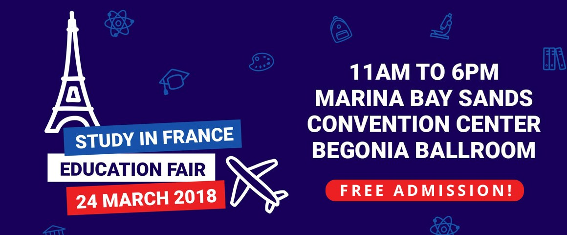 Study In France Higher Education Fair 2018