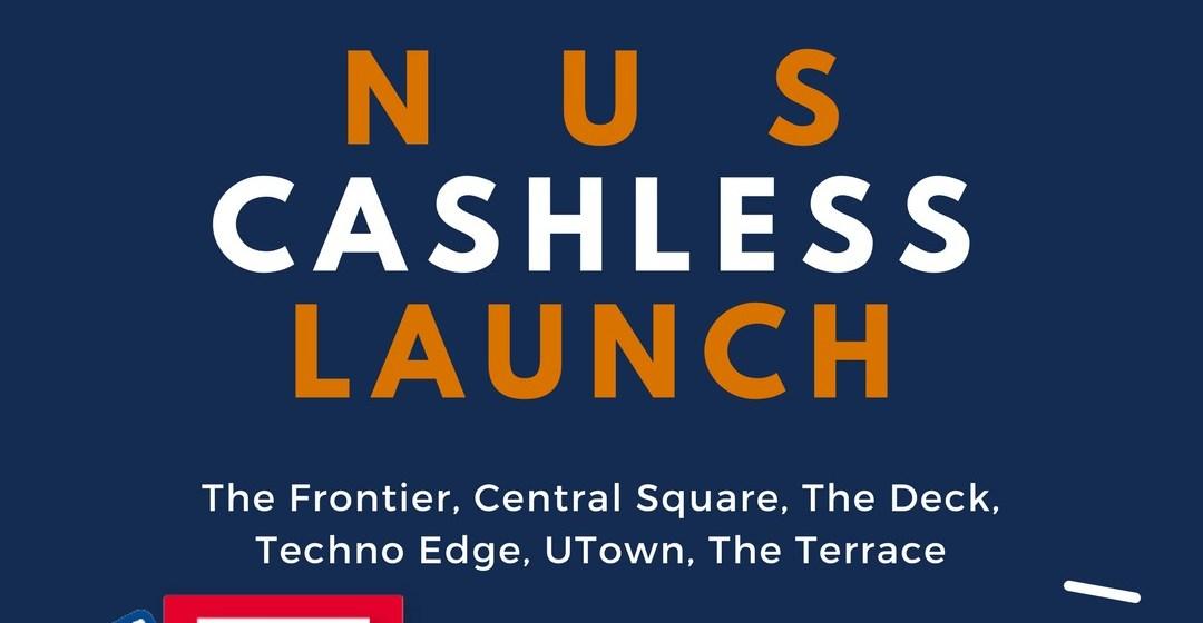 NUS goes CASHLESS #cashlessweek