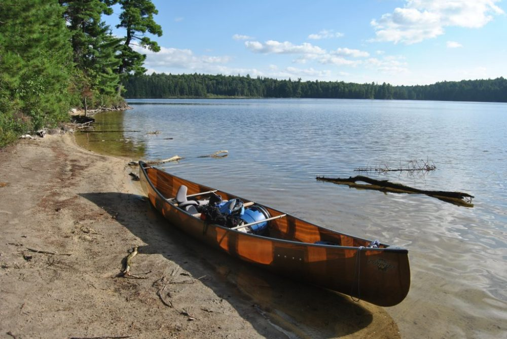 5 day canoe trip loop in Algonquin Park