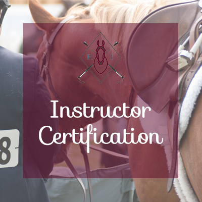 What's in a Good Riding Instructor Certification Program?