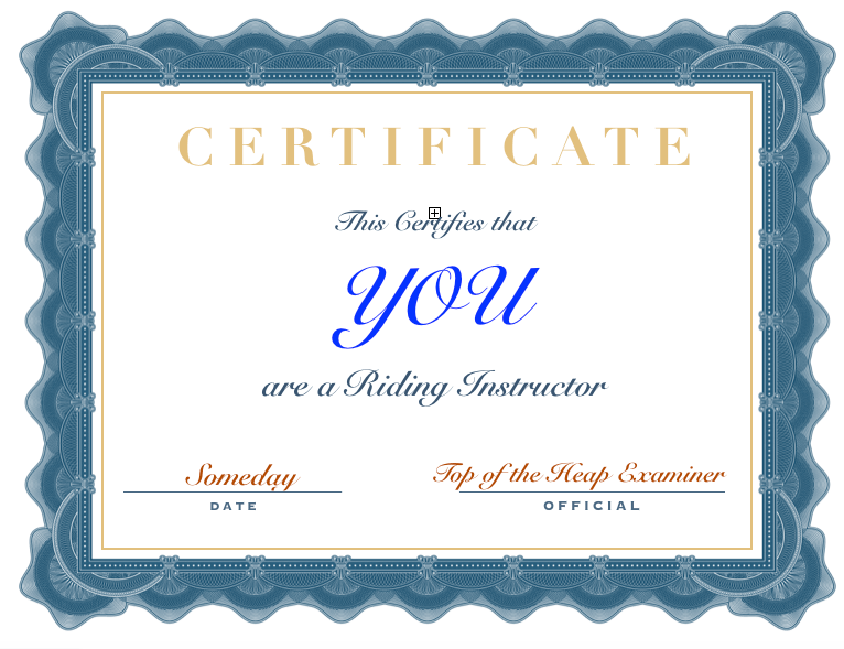 Instructor Certification – How to Choose