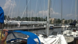 Complete Mast Refurbishment Hunter 34