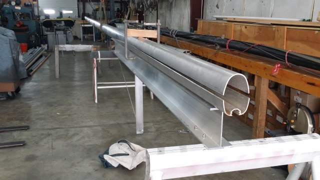 Custom Tapered Spar. Check out our Brand New Aluminum I-Beam Taper Spar!. Hinckley Bermuda 40 Sloop