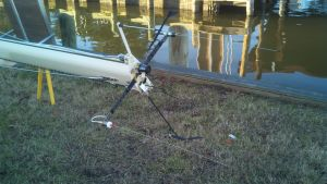 2 Vhf Antennae, OGM LED tricholor/ anchor light, Aparrent Wind Instrument, Digital Camera, and Davis Windex 15