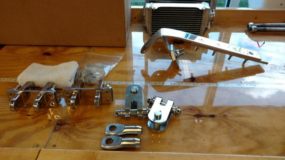 TRC custom Chainplate design for Omega 36